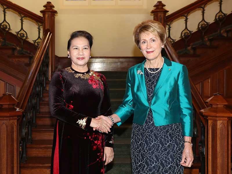 Chủ tịch Quốc hội gặp lãnh đạo bang Tây Australia - ảnh 1