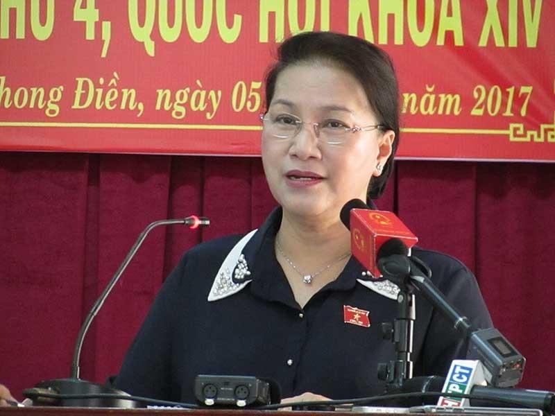 Chủ tịch QH: Chưa có chủ trương cải cách chữ quốc ngữ - ảnh 1