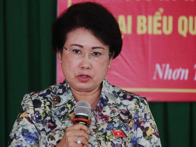 Ban Bí thư cách chức bà Mỹ Thanh - ảnh 1