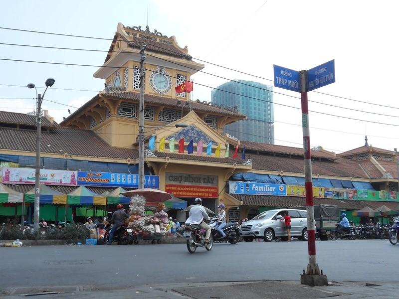 Hơn 120 tỉ đồng nâng cấp khu chợ sầm uất nhất Sài Gòn - ảnh 1