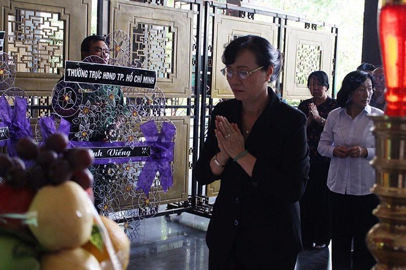 Bà Nguyễn Thị Quyết Tâm đau buồn trước sự ra đi bất ngờ của ông Nguyễn Thanh Chín