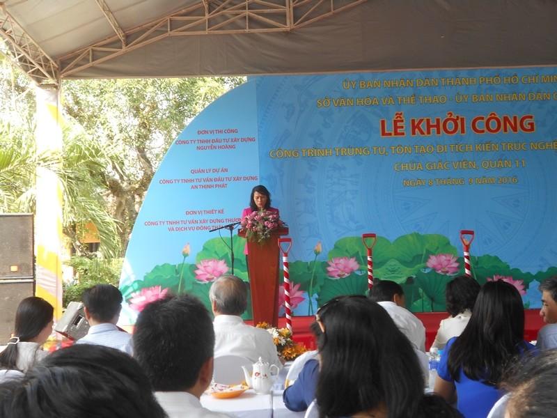 Trùng tu ngôi chùa cổ nhất Sài Gòn  - ảnh 1