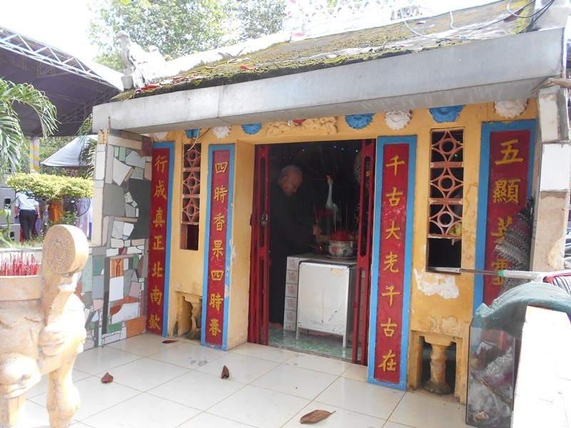 Trùng tu ngôi chùa cổ nhất Sài Gòn  - ảnh 10