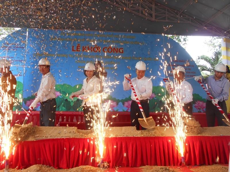 Trùng tu ngôi chùa cổ nhất Sài Gòn  - ảnh 2
