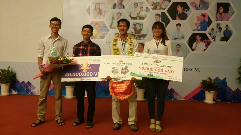 Lúa sạch đạt giải nhất cuộc thi 'Dự án khởi nghiệp' - ảnh 2