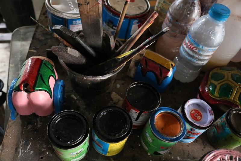 Nghệ nhân với những con rối nước hiếm hoi ở Sài Gòn - ảnh 2