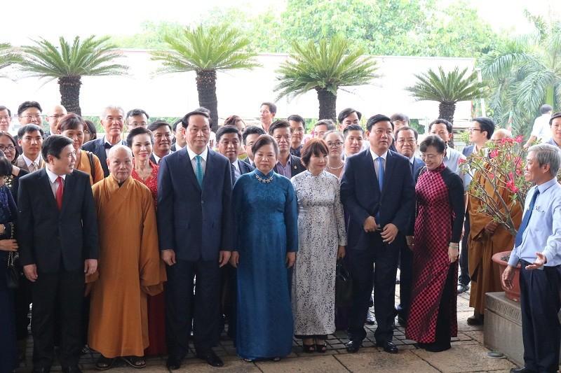 Chủ tịch nước dâng hương các Vua Hùng - ảnh 13