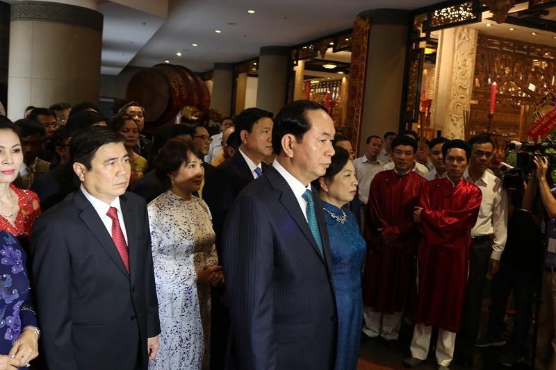 Chủ tịch nước dâng hương các Vua Hùng - ảnh 15
