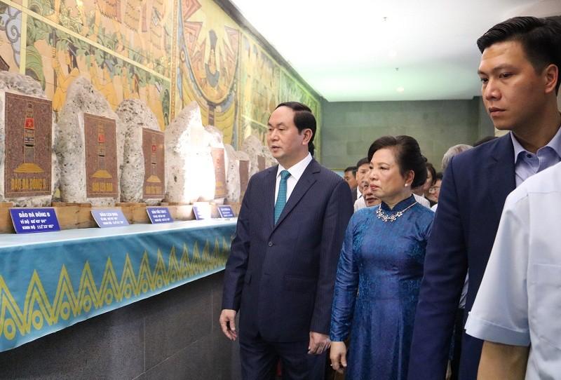 Chủ tịch nước dâng hương các Vua Hùng - ảnh 22