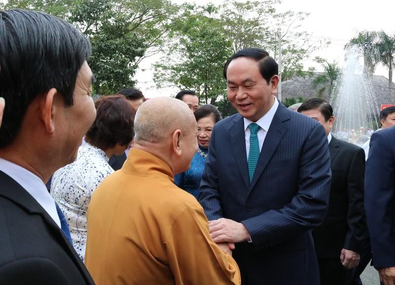 Chủ tịch nước dâng hương các Vua Hùng - ảnh 5