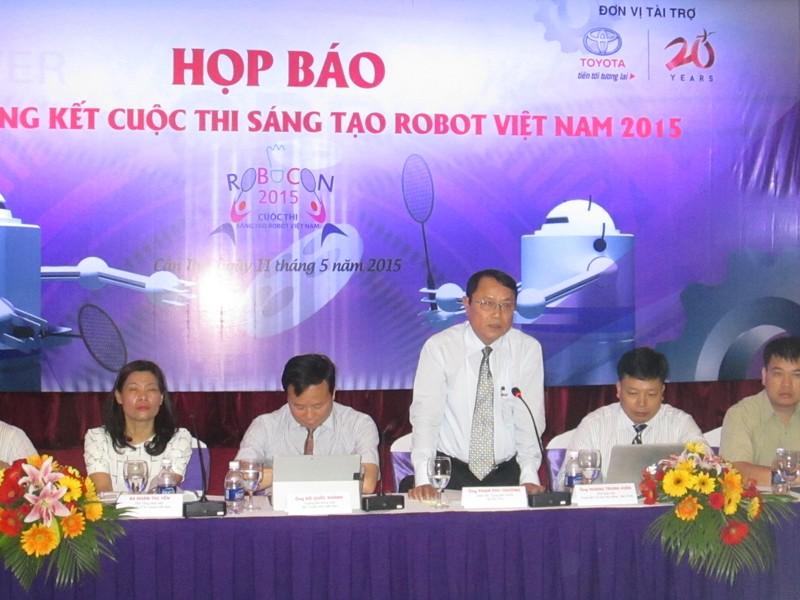Lần đầu tiên tổ chức thi Robocon Việt Nam 2015 tại TP Cần Thơ - ảnh 1