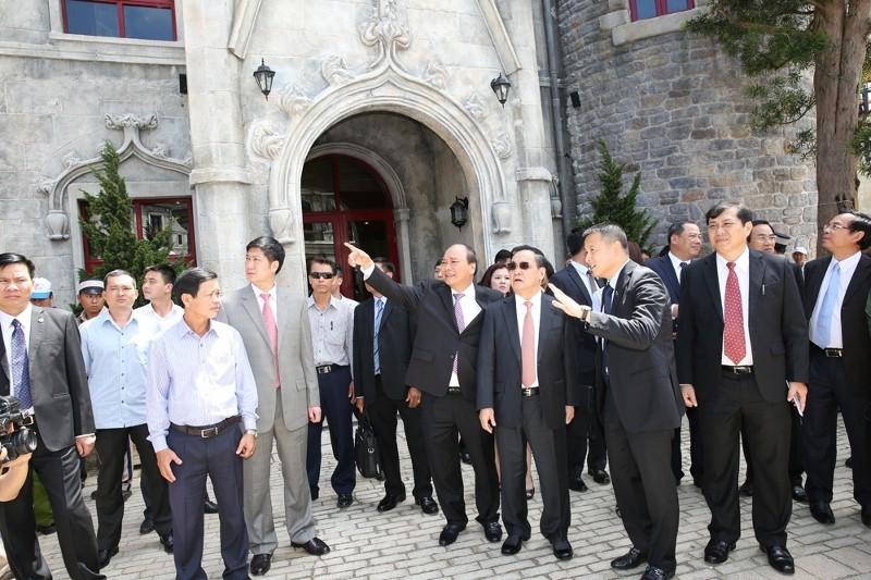 Thủ tướng Lào thăm Bà Nà Hills và Tập đoàn Sun Group - ảnh 1