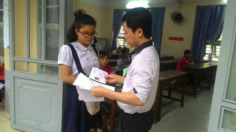 Hơn 4.400 học sinh bắt đầu dự tuyển vào lớp 6 Trần Đại Nghĩa - ảnh 4