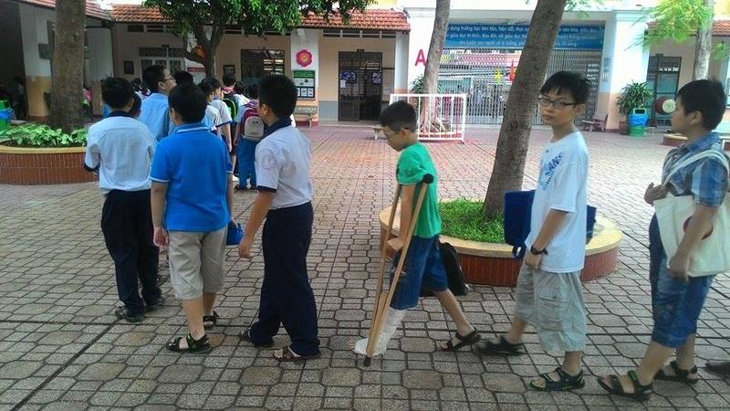 Hơn 4.400 học sinh bắt đầu dự tuyển vào lớp 6 Trần Đại Nghĩa - ảnh 3