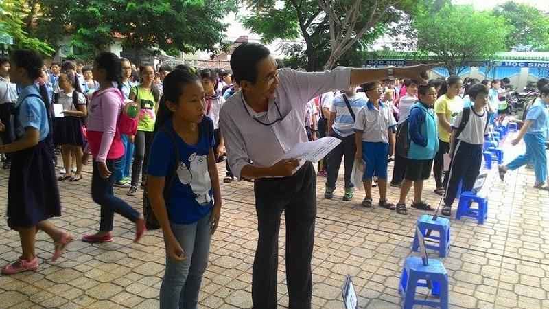 Hơn 4.400 học sinh bắt đầu dự tuyển vào lớp 6 Trần Đại Nghĩa - ảnh 2