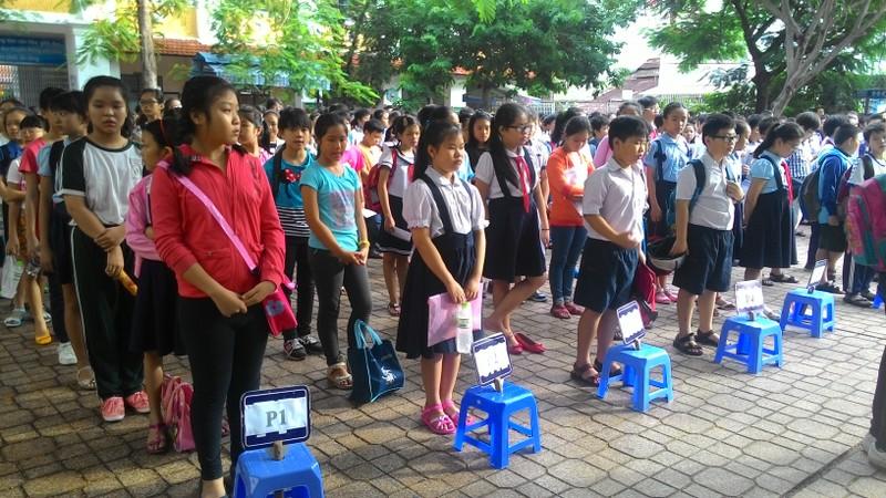Hơn 4.400 học sinh bắt đầu dự tuyển vào lớp 6 Trần Đại Nghĩa - ảnh 1