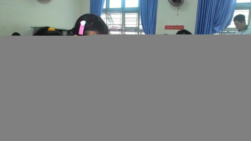 Hơn 4.400 học sinh bắt đầu dự tuyển vào lớp 6 Trần Đại Nghĩa - ảnh 6