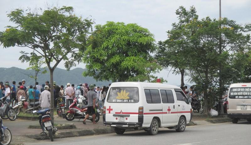 Phát hiện thi thể 2 nữ sinh trường y nổi trên sông Lam - ảnh 3