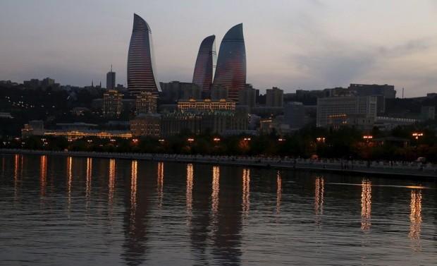 Baku làm đường đua F1 trên phố - ảnh 1
