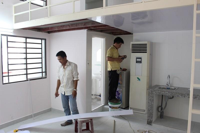 Xây nhà sáu tầng cho thí sinh ở miễn phí - ảnh 7