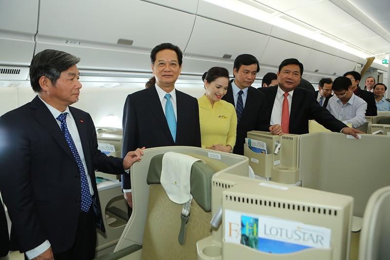 Vietnam Airlines nâng cấp dịch vụ tiêu chuẩn 4 sao  - ảnh 1