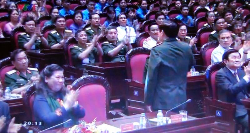Đại tướng Phùng Quang Thanh dự chương trình 'Khát vọng đoàn tụ' - ảnh 3