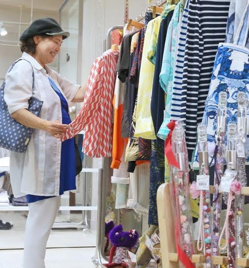 Phụ nữ Nhật chi tiêu rộng tay khi về già - ảnh 1