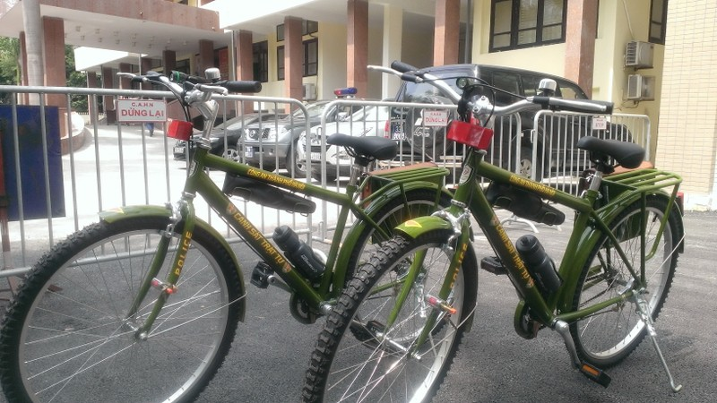 Chính thức ra mắt xe đạp đi tuần của Công an Hà Nội - ảnh 8