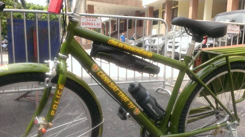Chính thức ra mắt xe đạp đi tuần của Công an Hà Nội - ảnh 5