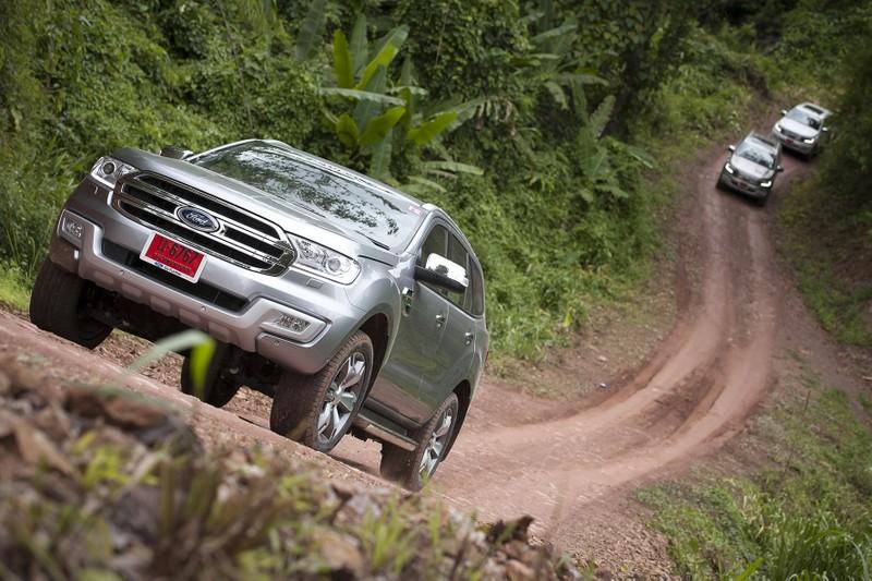 Một ngày 'nhún nhảy' cùng Ford Everest 2016 ở Chiang Rai - ảnh 3