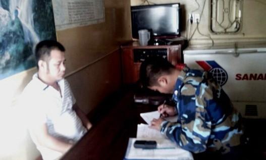 Cảnh sát biển bắt giữ tàu vận chuyển than lậu - ảnh 1