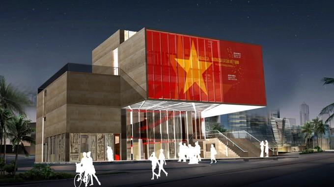 Sắp khởi công nhà trưng bày Hoàng Sa - ảnh 1