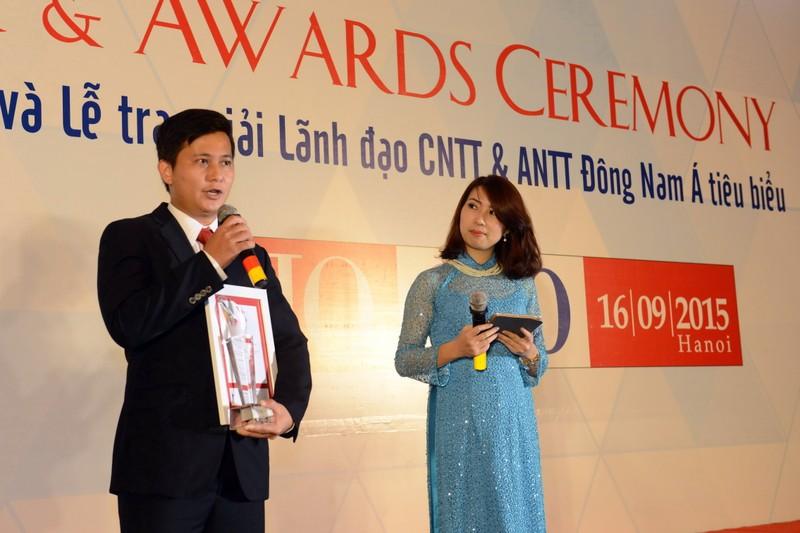 Phó TGĐ VietinBank nhận giải  Lãnh đạo CNTT Đông Nam Á tiêu biểu - ảnh 1