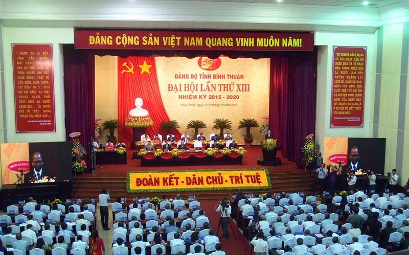 Khai mạc Đại hội Đảng bộ Bình Thuận lần thứ XIII - ảnh 2