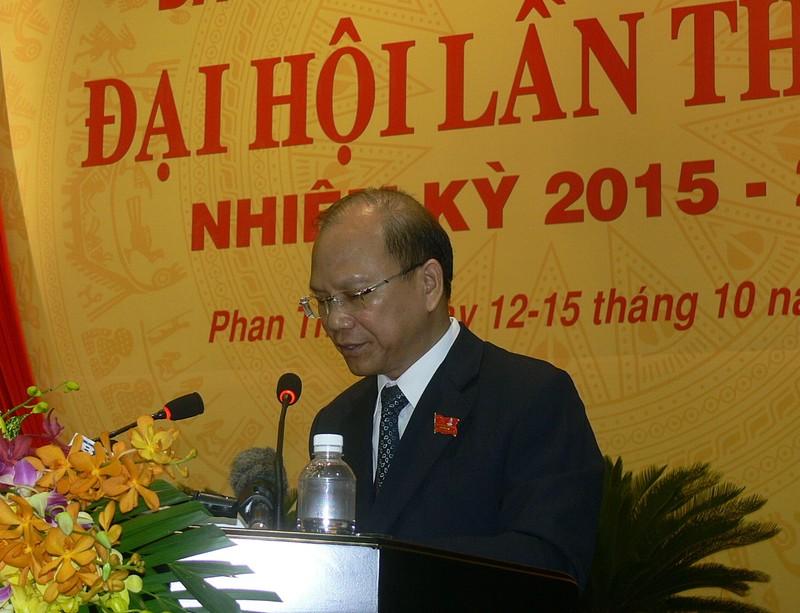 Khai mạc Đại hội Đảng bộ Bình Thuận lần thứ XIII - ảnh 1