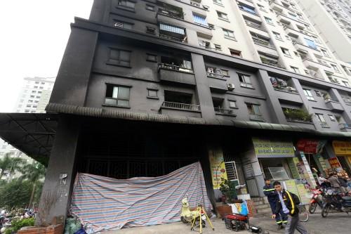 UBND TP Hà Nội chỉ đạo khắc phục hậu quả cháy tại chung cư Xa La - ảnh 1