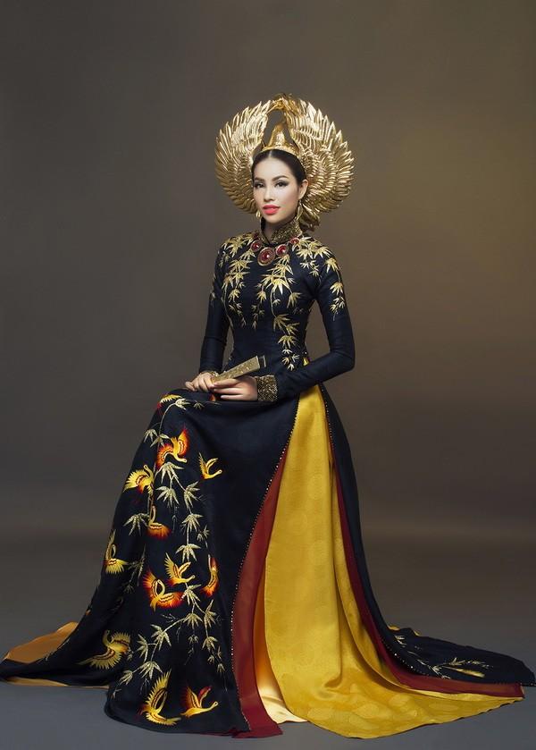 Công bố trang phục dân tộc của Phạm Hương - ảnh 4