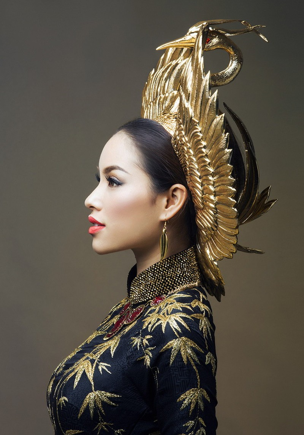 Công bố trang phục dân tộc của Phạm Hương - ảnh 6