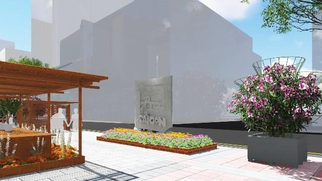 Đưa điêu khắc vào đường hoa Nguyễn Huệ tết Bính Thân  - ảnh 4