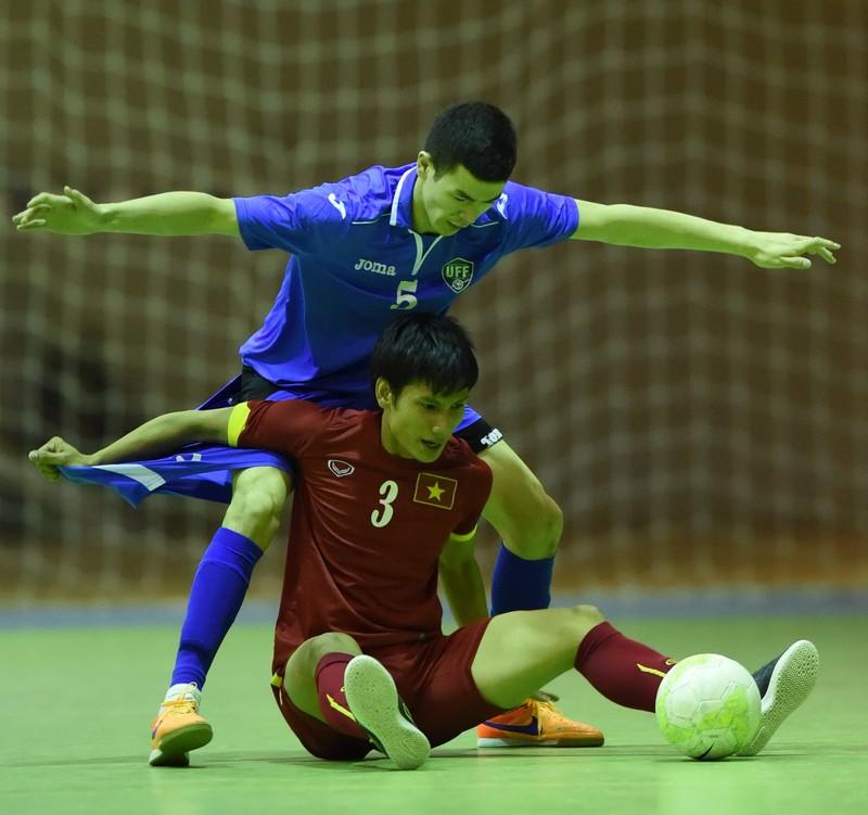 Futsal Việt Nam 3-3 Uzbekistan: Kịch tính! - ảnh 3