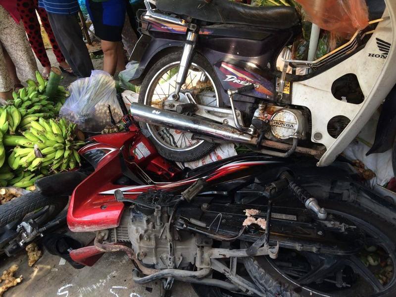 Xe tải mất thắng gây tai nạn thảm khốc, hai người chết tại chỗ - ảnh 3