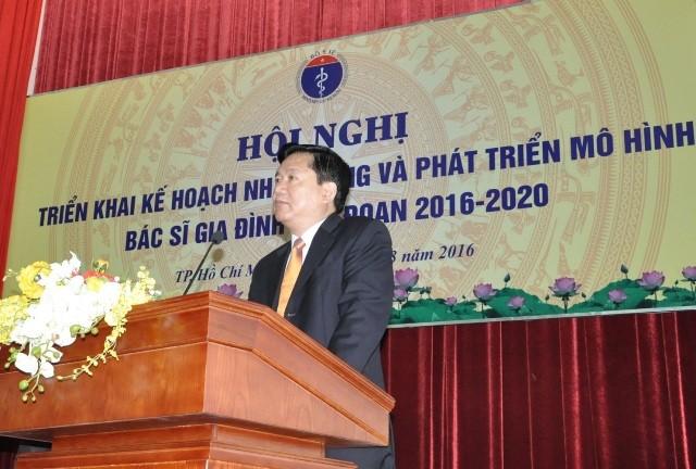 Bí thư Đinh La Thăng quyết triển khai thành công bác sĩ gia đình  - ảnh 1