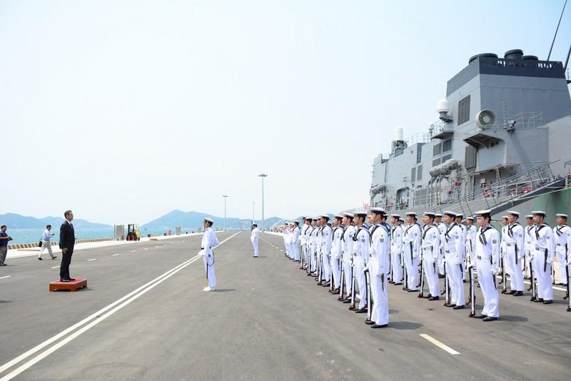 Đón 2 tàu hộ vệ của Nhật Bản thăm cảng Cam Ranh - ảnh 3