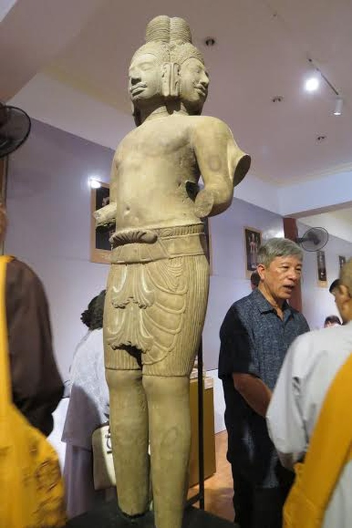 Chiêm ngưỡng nghệ thuật điêu khắc cổ Phật giáo và Hindu giáo  - ảnh 4