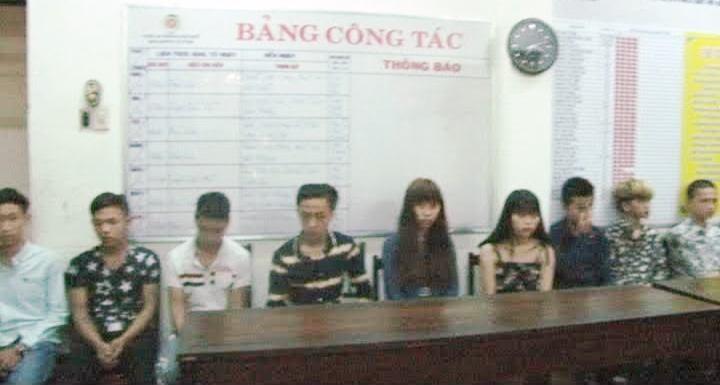 Tạm giữ nhóm thanh niên gây ra 20 vụ trộm cắp, cướp giật  - ảnh 1