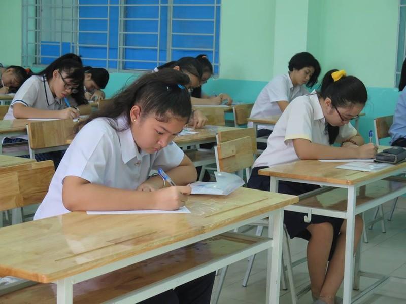 Thi lớp 10 ở TP.HCM: Gần 400 thí sinh vắng thi - ảnh 1