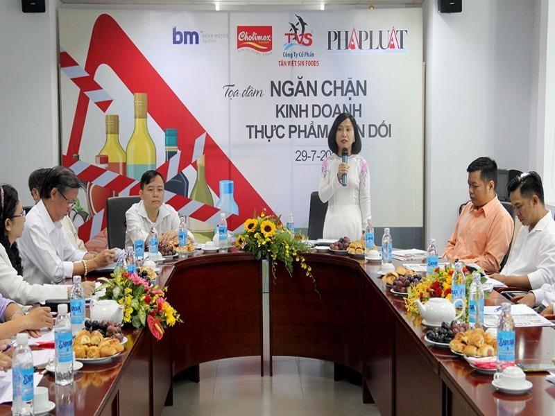 Bà Nguyễn Thị Thu Tâm – Phó TBT Báo Pháp Luật TP.HCM