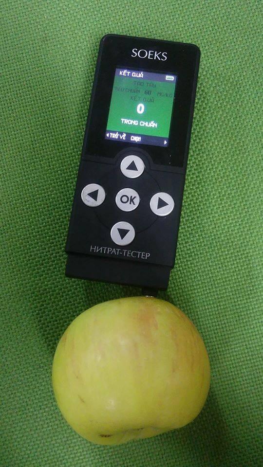 Cách sử dụng máy đo dư lượng Nitrat Soeks hiệu quả nhất - ảnh 1