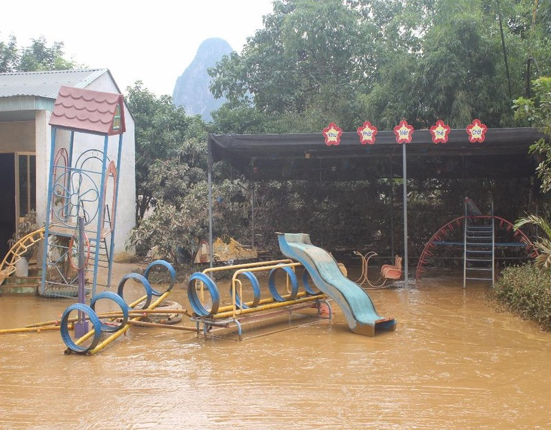 sau lũ lụt