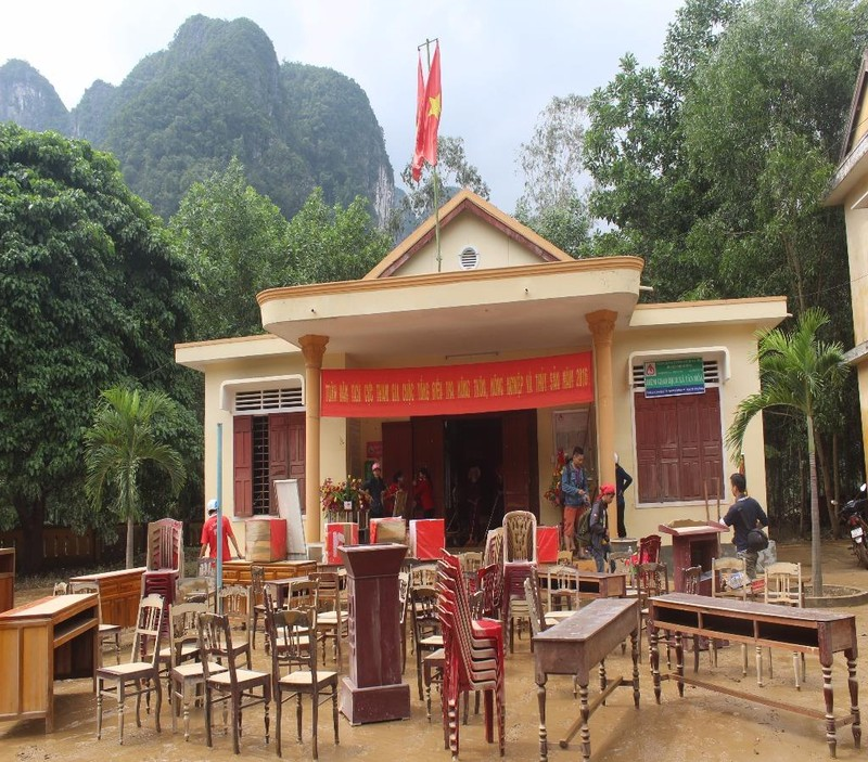 UBND xã Tân Hóa